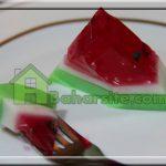 طرز تهیه ژله هندوانه ای برای شب یلدا + تصاویر مرحله به مرحله