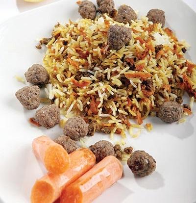 طرز تهیه هویج پلوی لبنانی خوشمزه