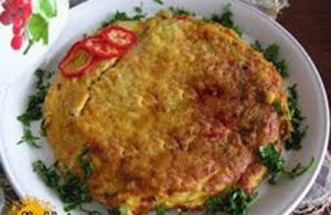 طرز تهیه املت گوشت و تخم مرغ