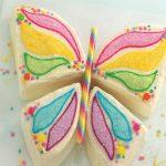 تزیین کیک تولد به شکل پروانه +عکس