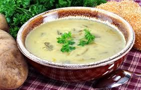 طرز تهیه سوپ شیر با تره فرنگی