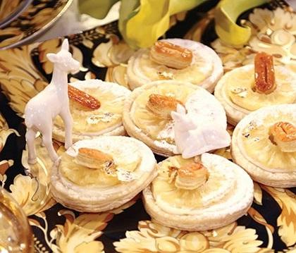 طرز تهیه شیرینی ناپلئونی با رویه آناناس