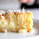 کیک نارگیلی خوشمزه با پختی آسان در خانه