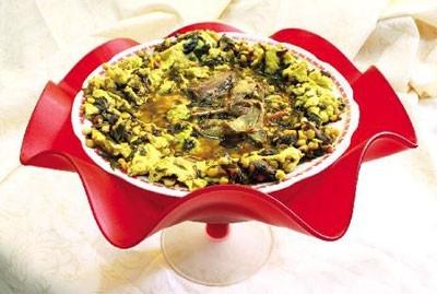 سیر قلیه یک غذای محلی گیلانی برای شما