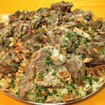 طرز تهیه مَنسَف غذای کشور اردن برای ماه رمضان