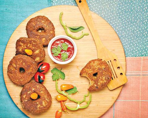 شامی نخودچی غذای پروتئین دار عالی مخصوص سحری