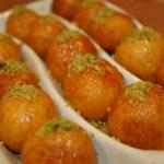 لگیمات یک شیرینی عربی خوشمزه برای افطاری هایتان