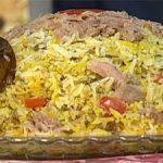 طرز تهیه پلو بندری یک غذای خوشمزه محلی و آسان پخت