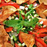 طرز تهیه سالاد فتوش یک پیش غذای خوشمزه لبنانی