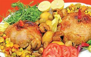طرز تهیه دلمه مرغ یک غذای خوشمزه و خوش عطر