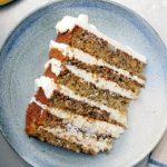 طرز تهیه کیک موزی با خامه ی پنیر یک میان وعده خوشمزه