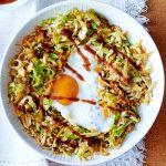 طرز تهیه ناسی گورنگ غذای محلی کشور اندونزی