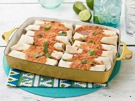 طرز تهیه بوریتوی گوشت و لوبیا یک غذای مکزیکی خوشمزه