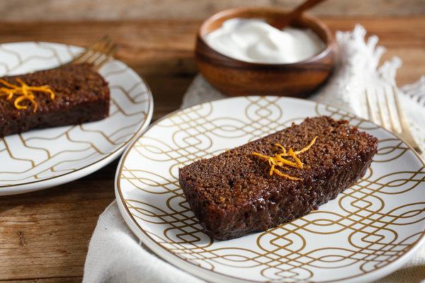 طرز تهیه کیک خیس شکلات و پرتقال