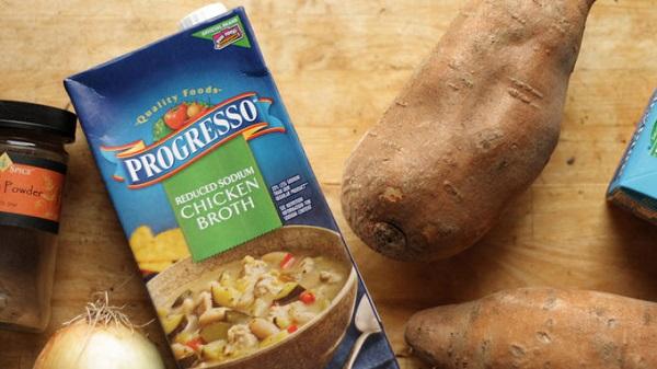 طرز تهیه سوپ سیب زمینی