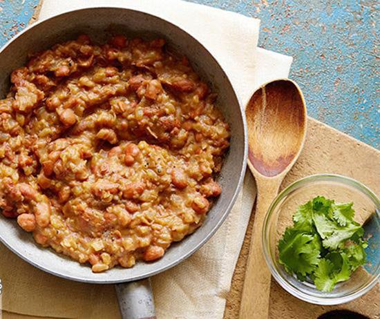 طرز تهیه پوره لوبیا یک خوراک لوبیای مکزیکی خوشمزه