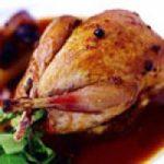 کبک سوخاری یک غذای لذیذ مجلسی برای میهمانی ها