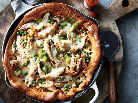 پیتزای مرغ تابهای
