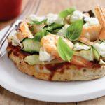 پیتزا سالمون و میگو یک پیتزا دریایی متفاوت