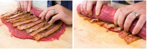 رولت گوشت مجلسی