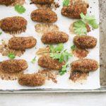 کتلت عدس یک غذای فوری گیاهی برای شام