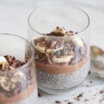 پودینگ شکلاتی دانه چیا یک دسر مجلسی شیک و سالم برای تابستان