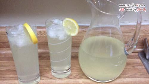 طرز تهیه لیموناد