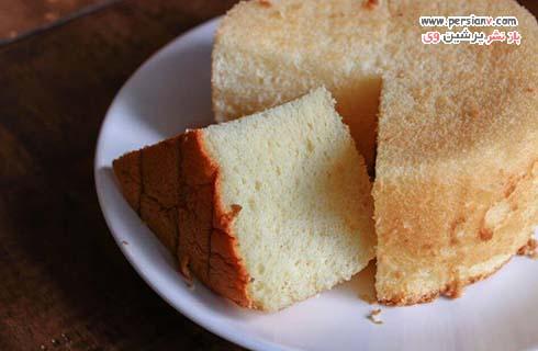 کیک پرتقالی بدون شکر