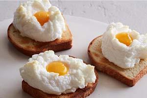 چطور تخم مرغ ابری درست کنیم
