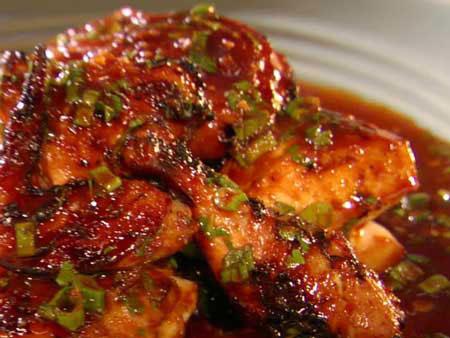 طرز تهیه خوراک بال مرغ