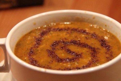 سوپ عدس قرمز و سماق