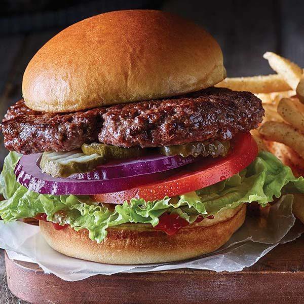 برگر خانگی اصل را خوشمزه تر از رستوران ها بپزید