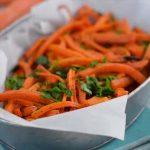 سبزیجات کریسپی خوشمزه جایگزینی سالم برای فرنچ فرایز