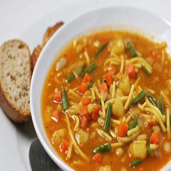 سوپ ورمیشل و مرغ
