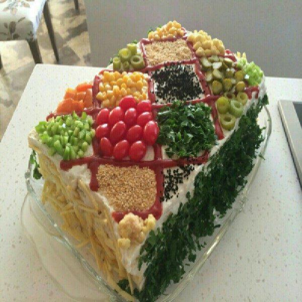 کیک پنیر و ژامبون