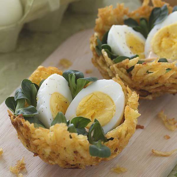 ایده هایی زیبا برای تزیین تخم مرغ آب پز