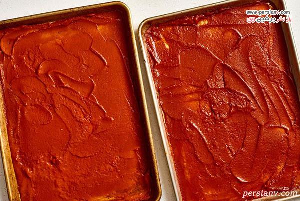 طرز تهیه رب گوجه فرنگی در فر