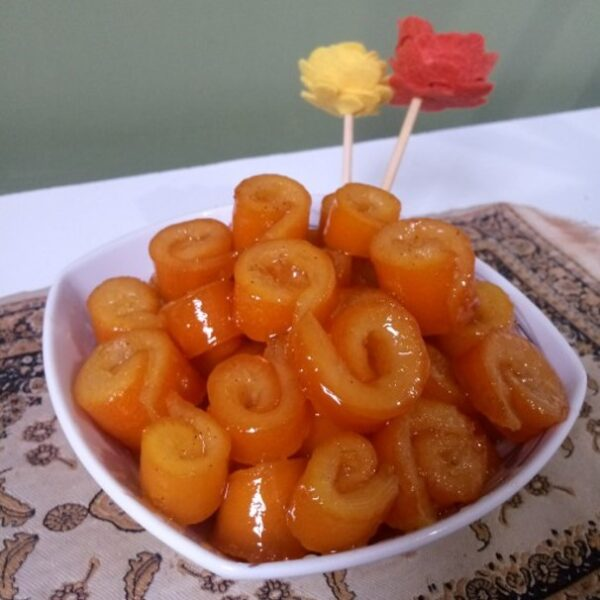 مربای پوست پرتقال