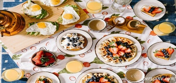 ۹ ماده غذایی خوشمزه برای ترغیب کودکان به خوردن صبحانه