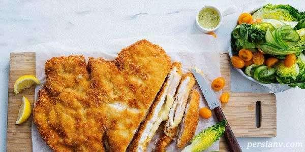 طرز تهیه شنیتسل ماهی