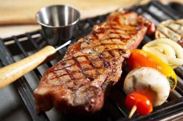 طریقه گریل کردن گوشت