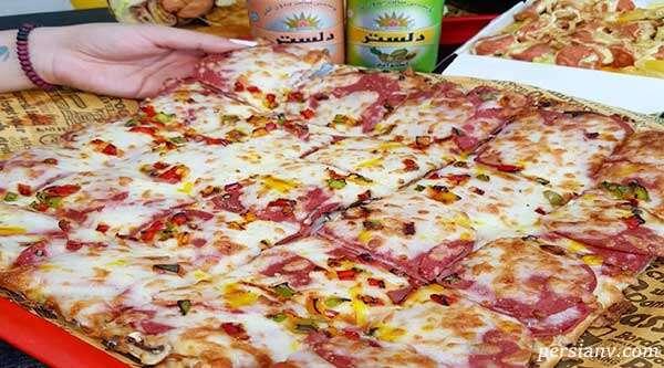 سفارش پیتزا