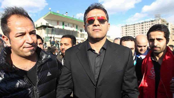 دوران ورزشی احمد رضا عابدزاده