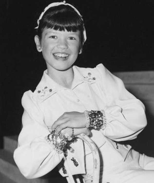 کودکی بازیگر زن