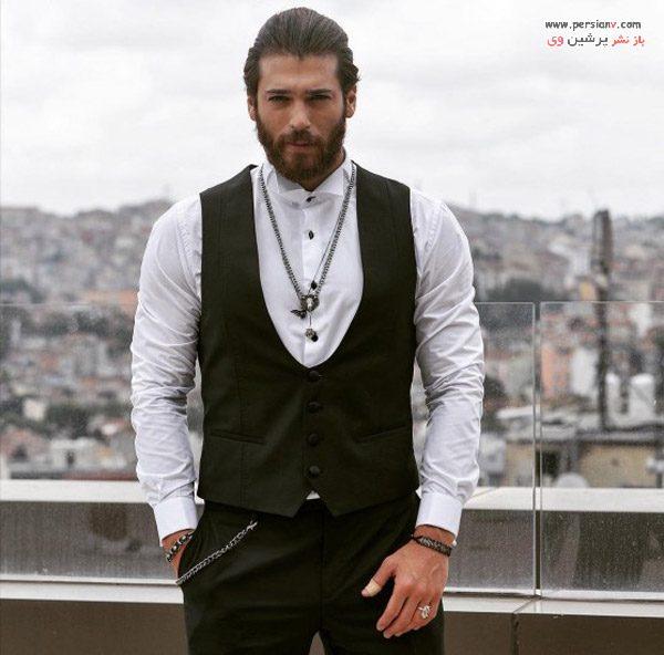 عکس های بازیگر ترکیه ای جان یامان