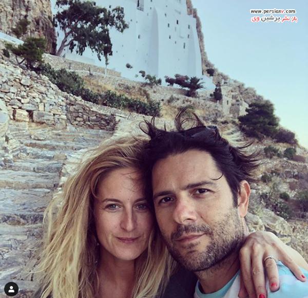 جانان ارگودر و همسرش