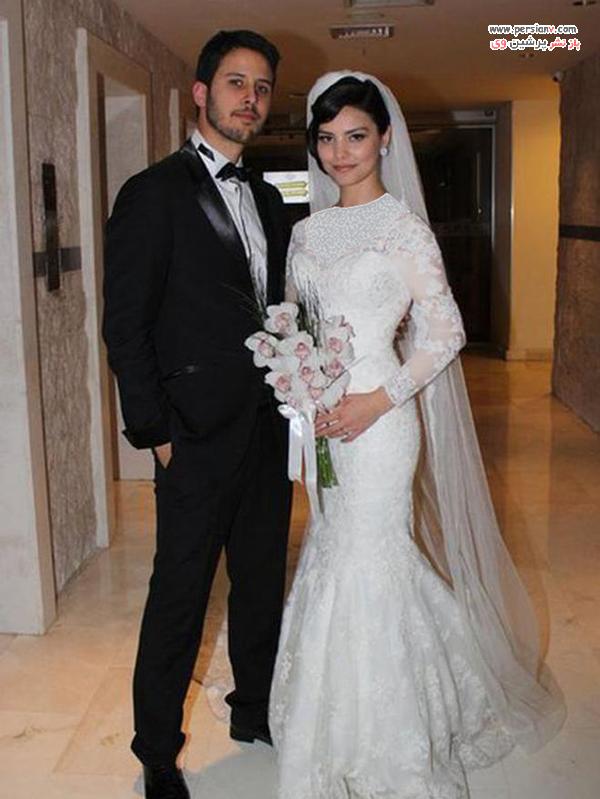 عکس عروسی هازال فیلیز