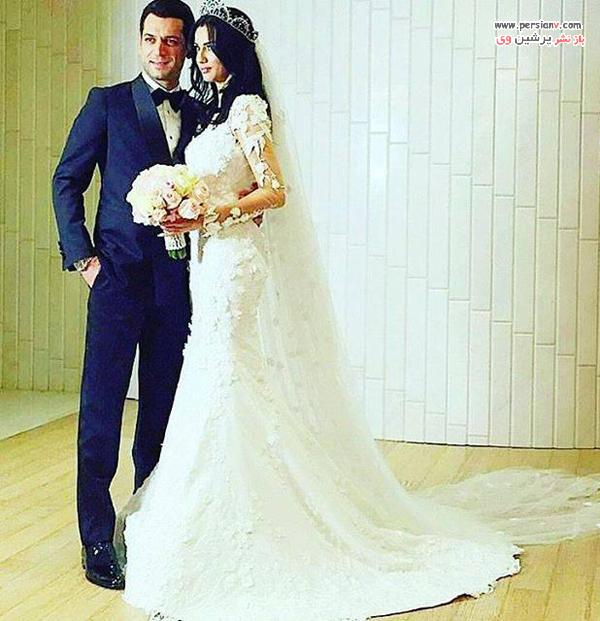 عکس عروسی مراد ییلدریم و ایمان البانی