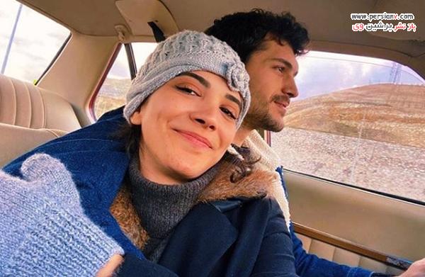 آلپرن دویماز و همسرش کبرا کلکیت