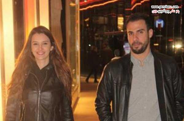 لیلا توغوتلو و نامزدش جیهون ارگین